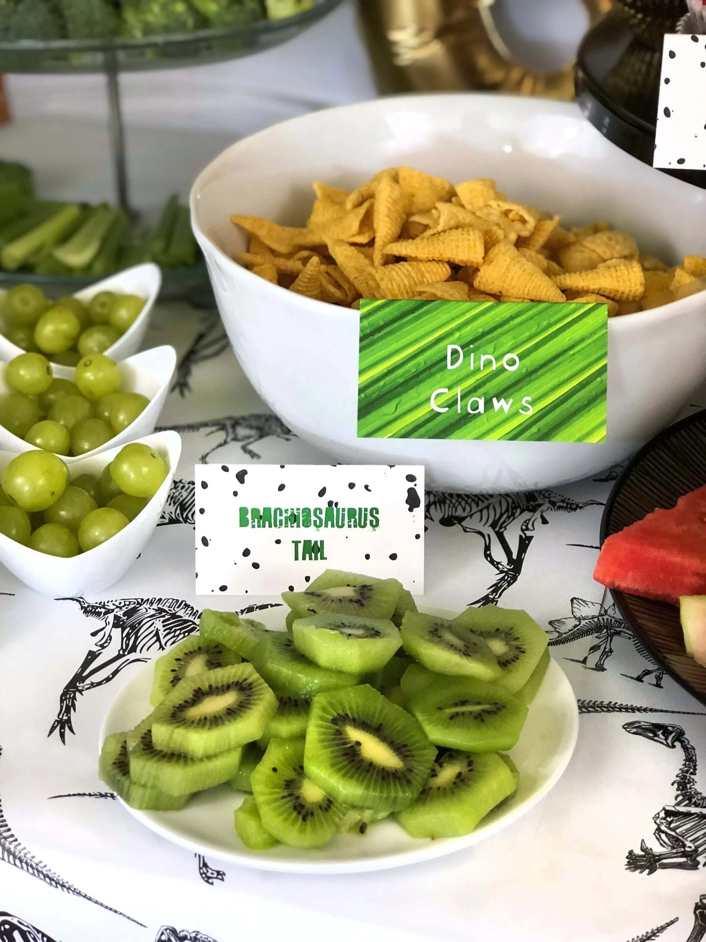 Dinosaur Party Food Tent Cards Parties With A Cause