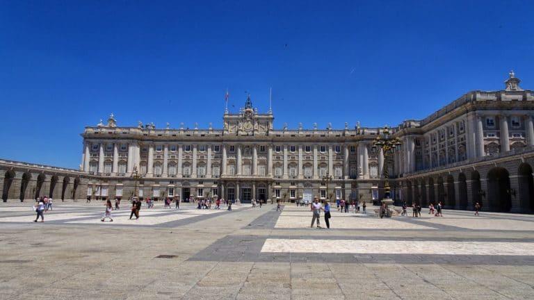 El palacio real Madrid