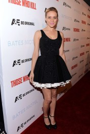 """Premiere Party For A&E's Season 2 Of """"Bates Motel"""" & Series Premiere Of """"Those Who Kill"""" - Red Carpet"""