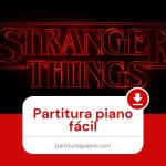 stranger things partitura piano pdf