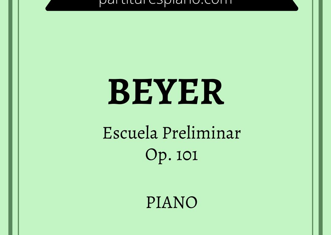 beyer escuela preliminar op 101 pdf
