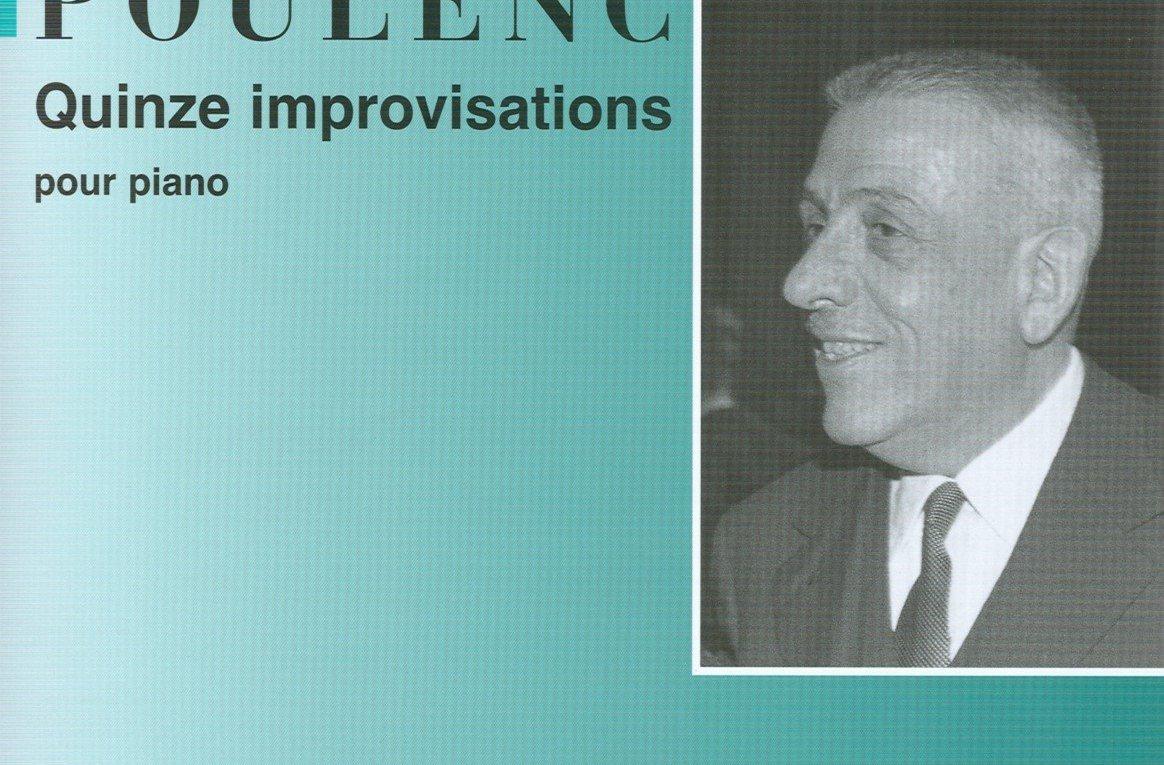 15 improvisaciones poulenc piano