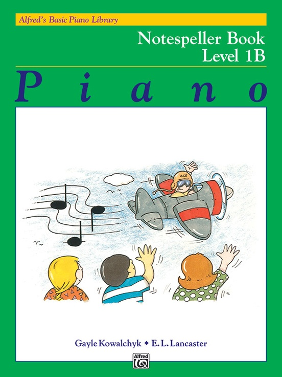 alfred's basic piano course notespeller