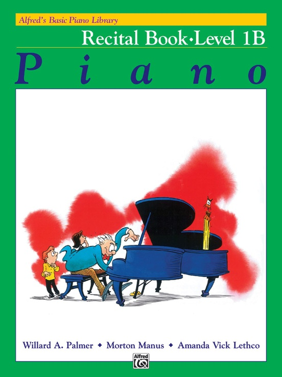 alfred's basic piano course recital