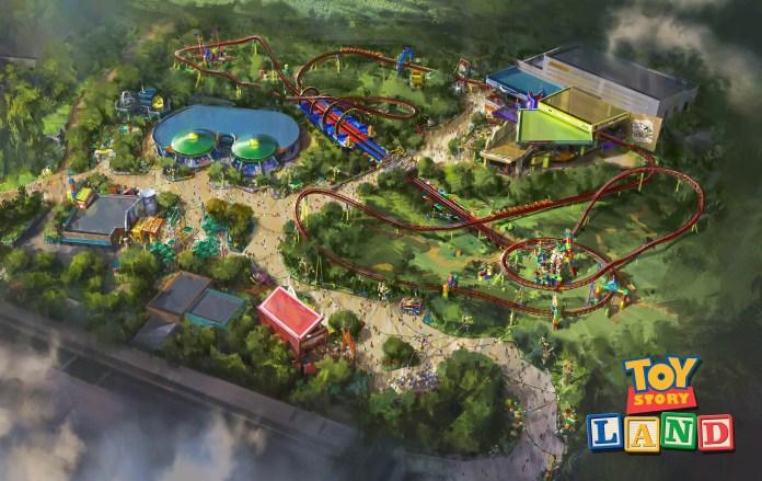 Toy Story Land - Nova Área do Hollywood Studios