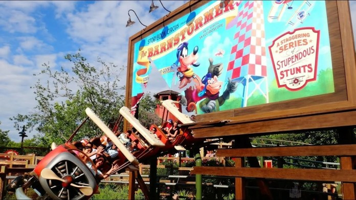The Barnstormer: Atrações do Magic Kingdom