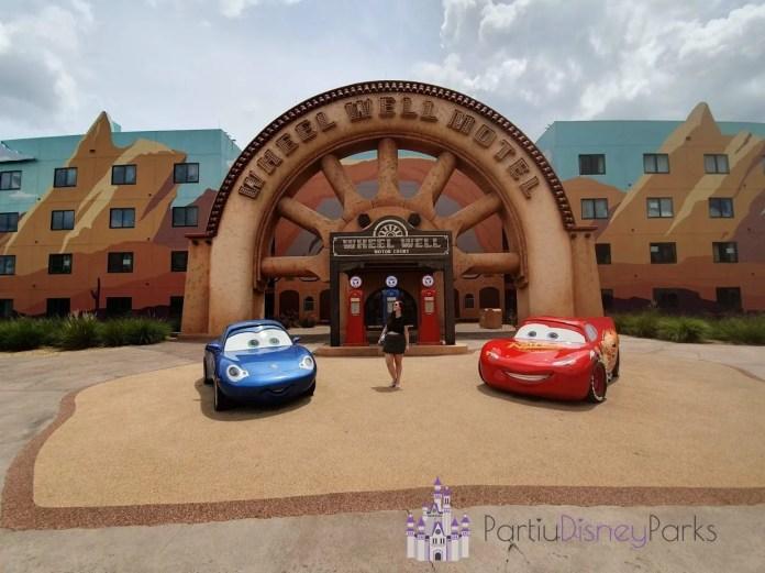 Art of Animation - Sessão do Carros Nath - Partiu Disney Parks 2