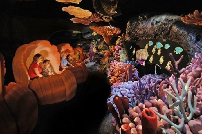 The Seas with Nemo & Friends: Atrações do Epcot
