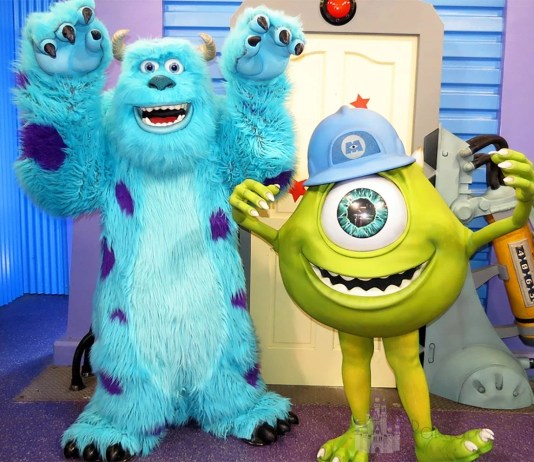 Mike and Sully Disney World