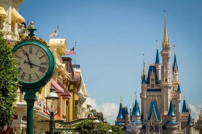 Horario em Orlando Disney