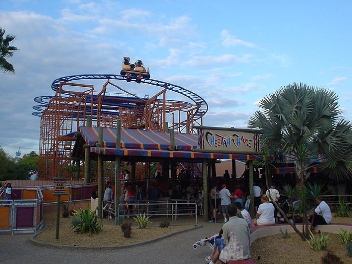Sand Serpent Busch Gardens