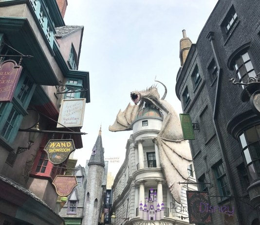Guia sobre o Beco Diagonal na Universal Studios