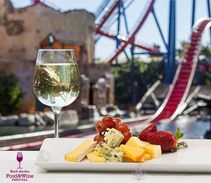 Busch Gardens Food and Wine