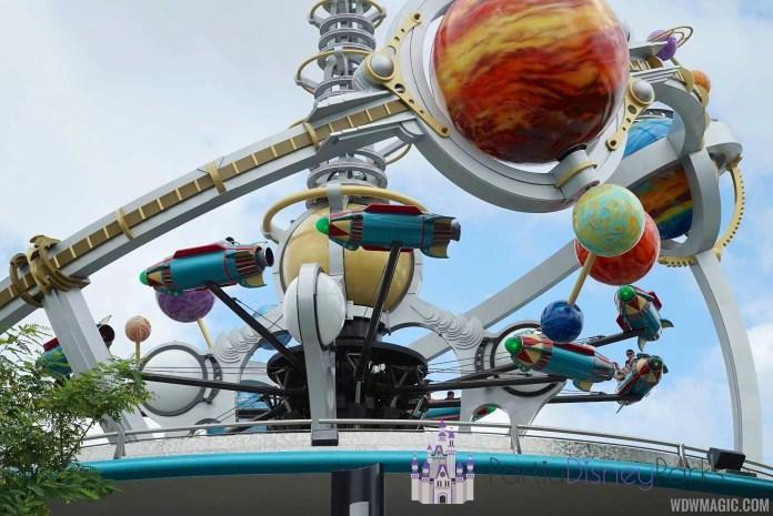 Astro Orbiters abandonaron los parques de Disney