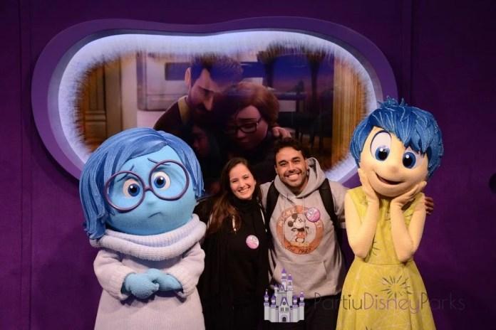 Partiu Disney Parks Joy e Sadness