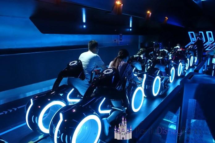 Tron Ride - Salieron de los parques de Disney