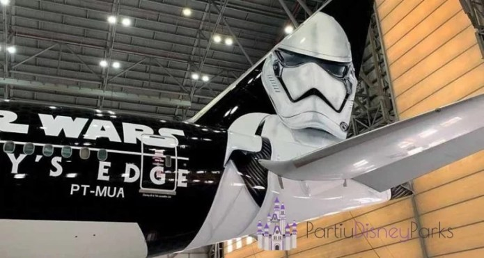 Aviao Latam Star Wars