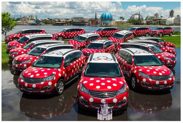 Disney Minnie Van
