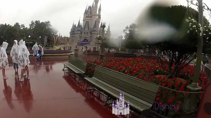 Magic Kingdom Chuva