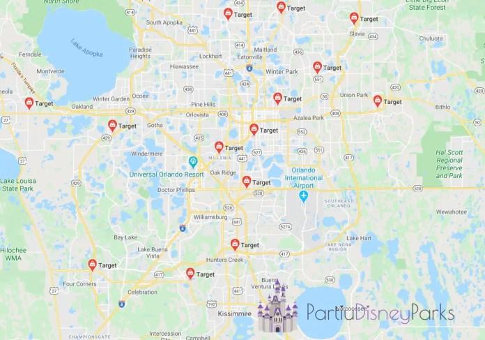 Targets em Orlando