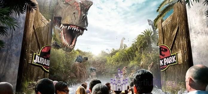 Jurassic Park River Adventure