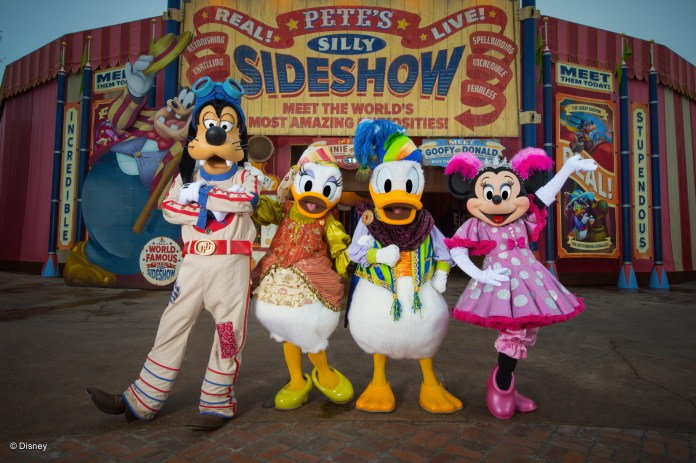 Fantasyland - Pete's Silly Sideshow