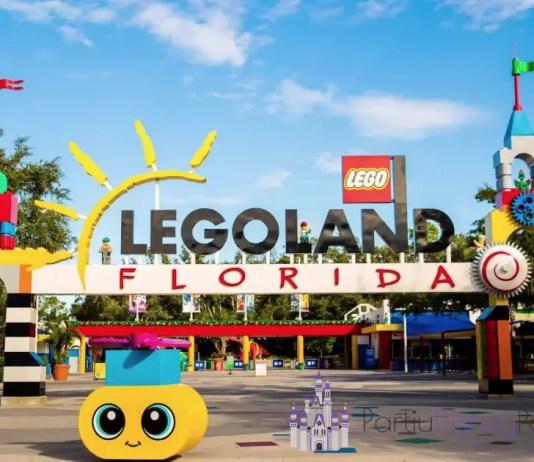 O Legoland Florida fica em Winter Haven, próximo a Orlando
