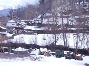 Neve em Asturias