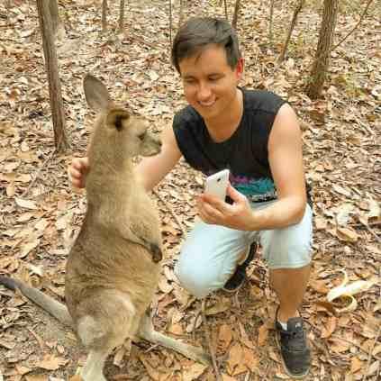 como é estudar inglês na austrália Daniel Steigleder