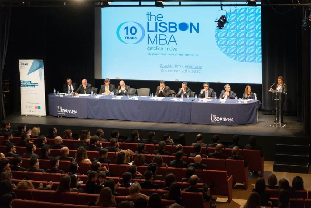 bolsa para MBA em Portugal Lisbon MBA Nova Católica