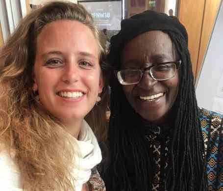 intercambio jornalismo yael partiu intercambio future news worldwide british council Catherine Gicheru