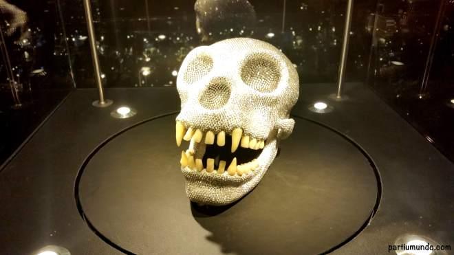 The Coster Skull - inspirada pela caveira de Damien Hirst / inspired by the Skull of Damien Hirst