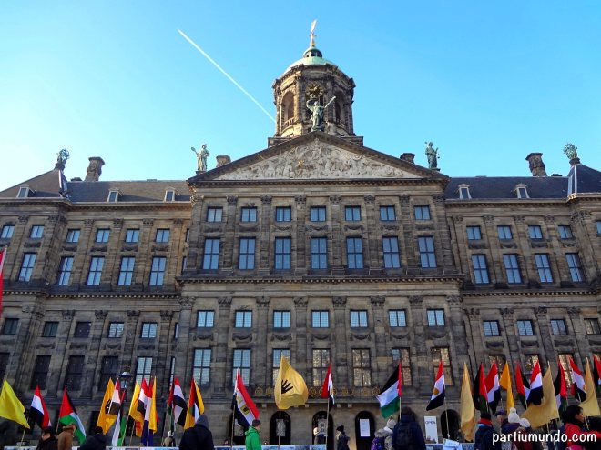 dam square - royal palace