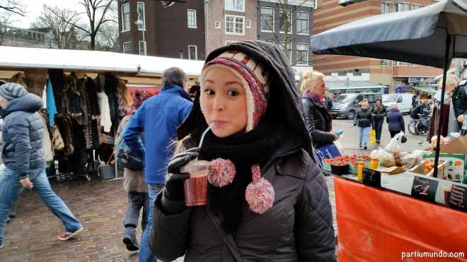 Spui street market