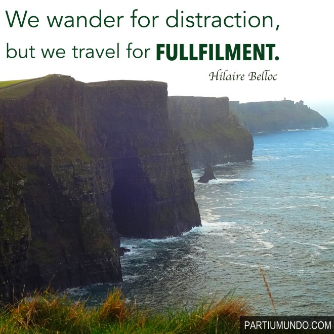 7. cliffs of moher - Ireland - travel quotes