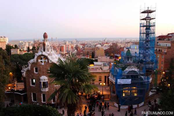 barcelona - park güell 4
