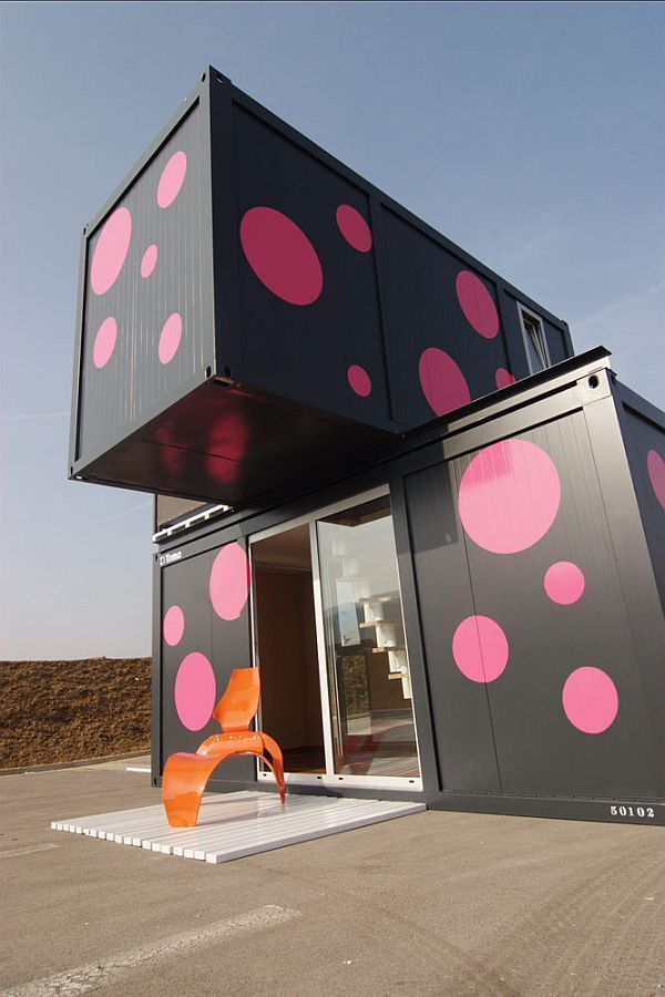 cargo container house 2
