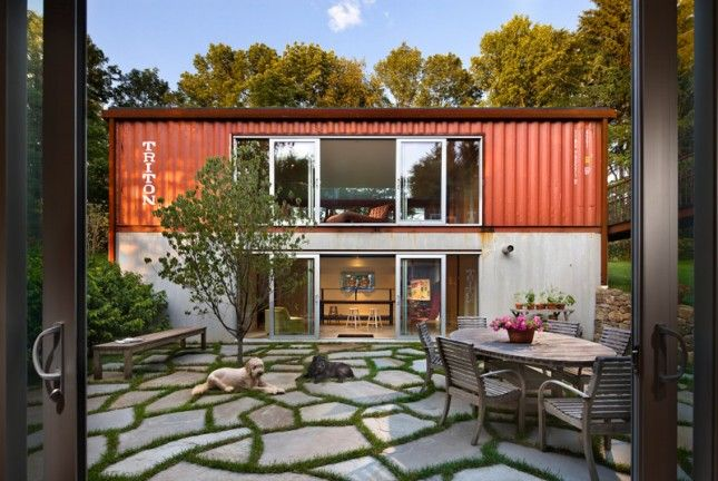cargo container house 6