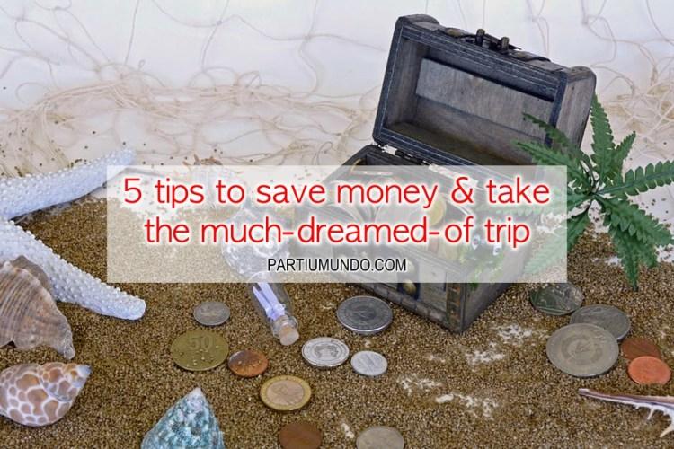 formas de guardar dinheiro para viajar