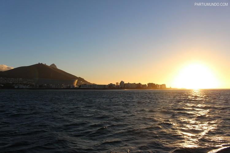 Pôr do sol em Cape Town 10