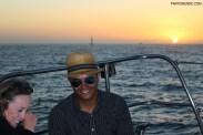 Pôr do sol em Cape Town