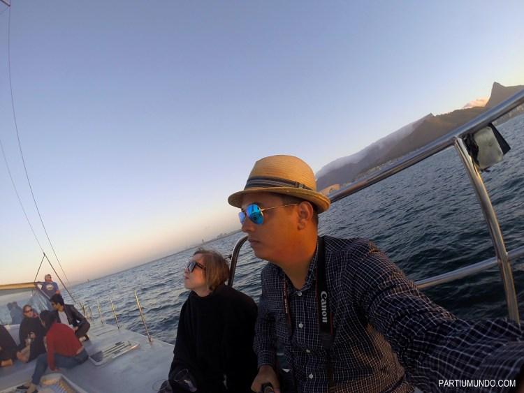 Pôr do sol em Cape Town 8
