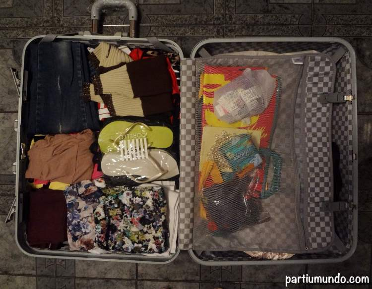 how to pack your bags