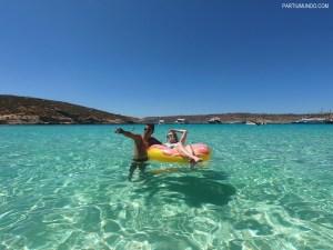 Blue Lagoon em Malta