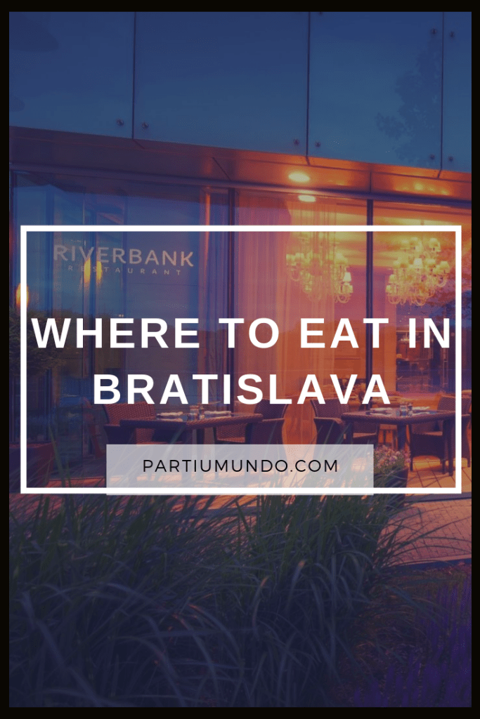Where to eat in Bratislava