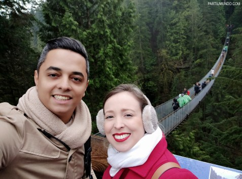 Parque Capilano Suspension Bridge 22