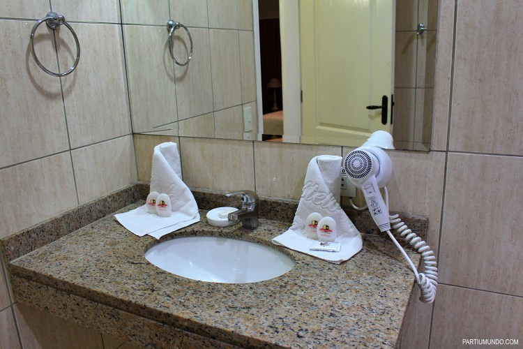 Where to stay in Campos do Jordao - the bathroom