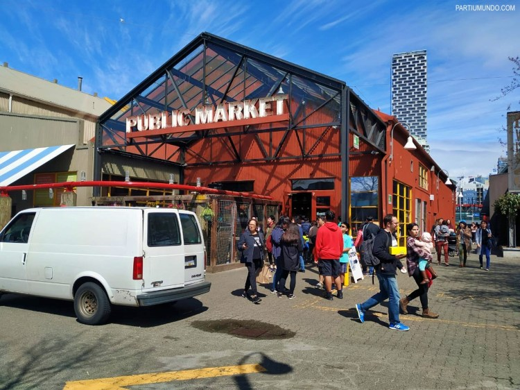 Public market - Granville Island