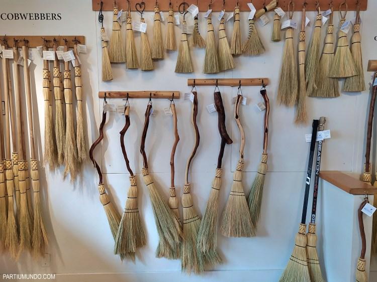 Broom shop - Granville Island