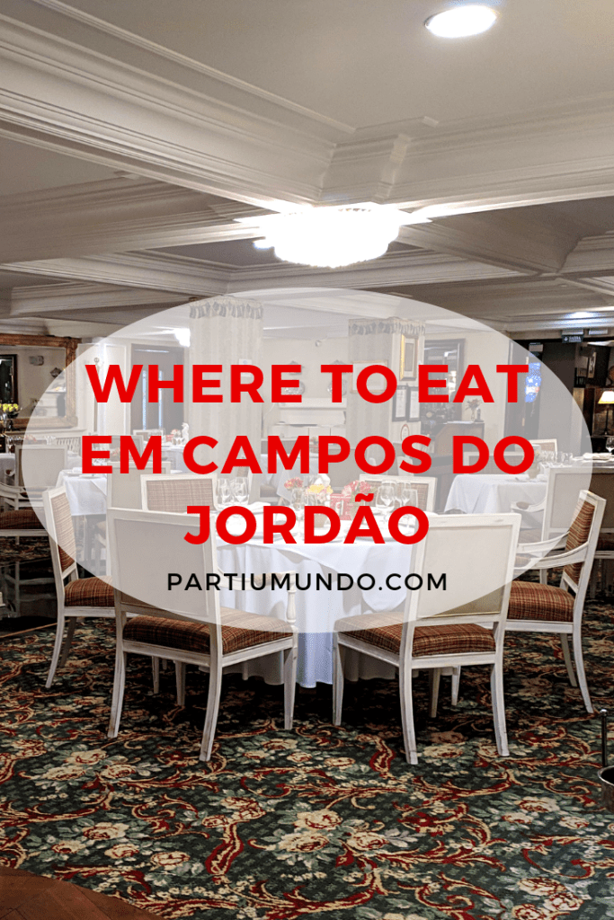Where to eat in Campos do Jordao